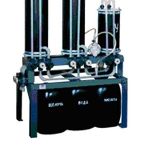 ИО-1,  ИО-2 Установка очистки промывных вод ионообменным способом