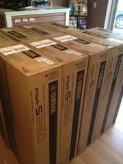 Yamaha PSR S950, 900, 750, 710-Korg Pa3X-Korg